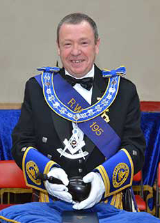 Picture of the Lodge Master David J.W. Pendreigh